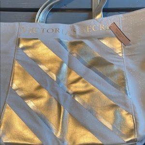 Victoria secret beach bag tote
